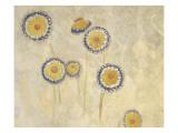 Décoration Domecy : marguerites Giclée par Odilon Redon