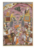 Shahnameh de Ferdowsi ou le Livre des Rois Première entrevue de Roustam et son aïeul Sam