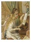 Jeunes filles au piano