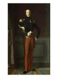 Ferdinand Philippe  duc d'Orléans (1810-1842)  représenté en uniforme de général de division