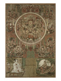 """Guanyin sous deux formes : """"Grand compatissant"""" et """"Lune dans l'eau (Shuiyue)"""""""