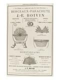 Album illustré de l'Almanach Didot-Bottin : Berceaux-parachute   JE Bovin