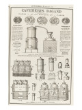Album illustré de l'Almanach Didot-Bottin : Fabricant de cafetière Dagand