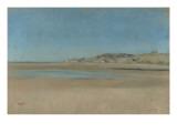 Maisons au bord de la mer Giclée par Edgar Degas