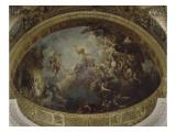 Abside de la chapelle Royale de Versailles : La résurrection