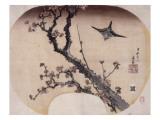 Cerisier en fleurs et fauvette