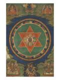 Mandala de Vajravârâhi (rDo-rje phag-mo) Giclée