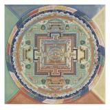 Mandala du Potala de Lhassa Giclée
