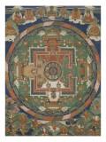 Mandala d'Aksobhya (Mi-bskyod-pa) Giclée