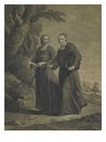 Firmin-Louis de Tournus et le diacre François de Pâris