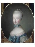 Marie-Antoinette  archiduchesse d'Autriche  future Dauphine de France (1755-1793)