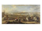 Louis XV au siège de Mons  du 7 juin au 11 juillet 1746
