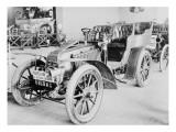 Album photographique : Automobile de course Renault 1903 type Paris--Madrid