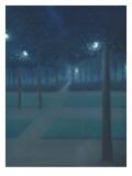Nocturne au Parc Royal de Bruxelles