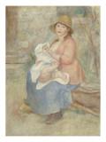 Maternité dit aussi L'Enfant au sein (madame Renoir et son fils Pierre)