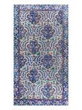 Panneau à décor de mandorles et de pruniers