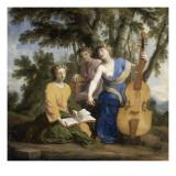 Melpomène  Erato et Polymnie