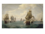 Combat naval de la Dominique  le 17 avril 1780