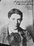 """Picasso à Paris (photographie dédicacée """"à mes chers amis Suzanne et Henri Bloch"""")"""