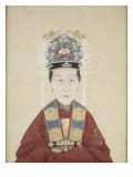 Portait de la dame Zhu  épouse de Lui Wenyao