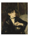 Portrait de Berthe Morisot à l'éventail