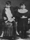 Picasso et sa soeur Lola