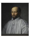 Portrait de Jean Duvergier de Hauranne  abbé de Saint-Cyran