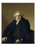 Portrait de Bertin  Louis-François  dit Bertin l'ainé (1766-1841)  fondateu