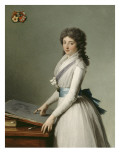 Portrait of Mary Broutin  Baroness Chalvet-Sonville