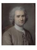 Portrait de Jean-Jacques Rousseau (1712-1778)  philosophe