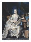 Portrait de la marquise de Pompadour (1721-1764)