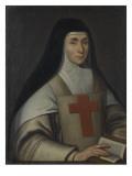 Portrait de la mère Christine Briquet