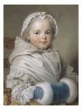 Portrait de Nicole Ricard enfant