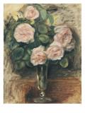 Roses dans un verre