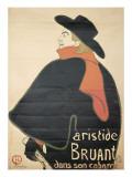 Affiche : Aristide Bruant dans son cabaret