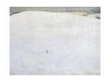 Schneelandschaft (paysage de neige) dit aussi Grosser Winter (Grand hiver) Giclée par Cuno Amiet
