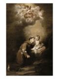 Saint Antoine de Padoue et l'Enfant Jésus
