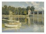 Le pont d'Argenteuil Giclée par Claude Monet