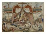 Tapisserie : L'audience du Prince  1ère pièce de la tenture chinoise
