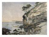 L'Estaque, effet du soir Giclée par Paul Cézanne