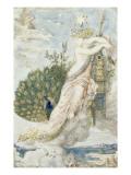 Le Paon se plaignant à Junon Etude pour les Fables de La Fontaine