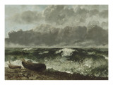 La mer orageuse  dit aussi la vague