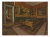 La Salle de billard au Menil Hubert