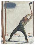 Le bûcheron (der Holzfäller)