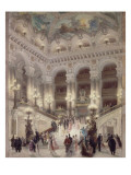 L'escalier de l'Opéra