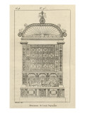Musée des Monuments Français tome 3  par Alexandre Lenoir: planche 98: tombeau de Louis de