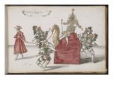"""Album ; Ballet de la Douairière de Billebahaut () ; """"Entrée du Grand Can et de ses suivants"""" ;"""