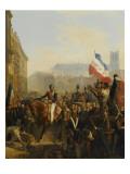 Louis Philippe  duc d'Orléans (futur roi Louis-Philippe)   lieutenant génér