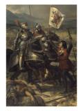 Bataille de Fornoue  près de Parme  remportée par Charles VIII sur l'armée des Confédérés
