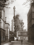 Statue of Liberty in Paris  c1886